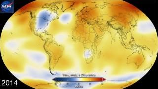 NOAA e NASA confermano: 2014 anno più caldo di sempre