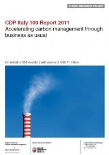 Rapporto Carbon Disclosure Project 2011: cresce l'attenzione delle aziende al climate change