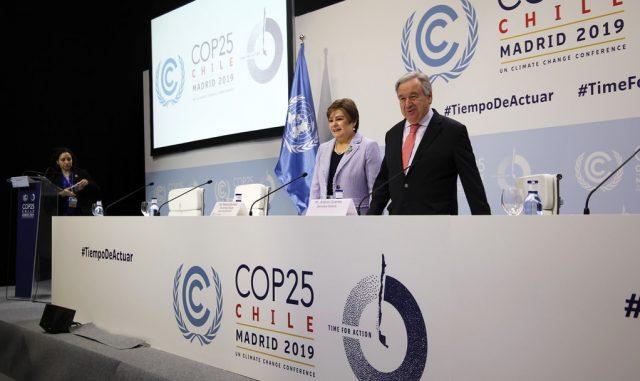 Al via la COP 25 a Madrid