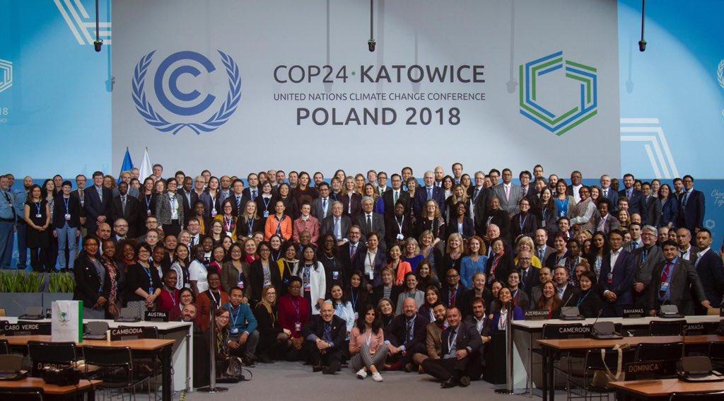Conclusa la COP 24 di Katowice: approvato il Paris Rulebook