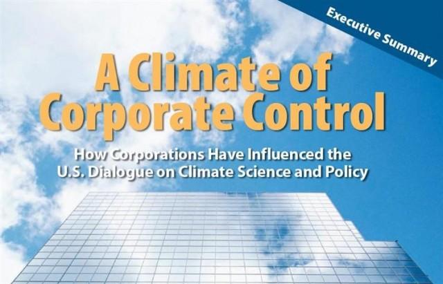 Ancora disinformazione e negazionismo del cambiamento climatico: un report USA elenca le aziende finanziatrici