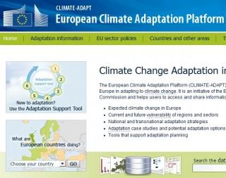 Adattamento al cambiamento climatico: nasce il nuovo portale web europeo