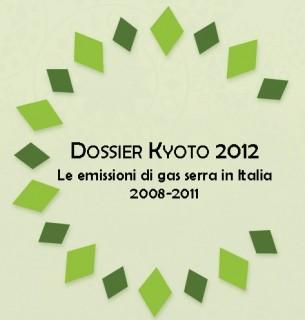 Dossier Kyoto 2012: emissioni di gas serra in calo in Italia (nel periodo 2008-2011)