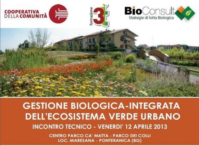 Gestione biologica integrata dell'ecosistema verde urbano: convegno nel Parco dei Colli di Bergamo