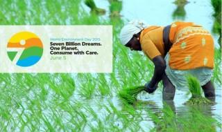 """Giornata mondiale dell'ambiente 2015: """"Sette miliardi di sogni. Un Pianeta. Consumare con moderazione"""""""