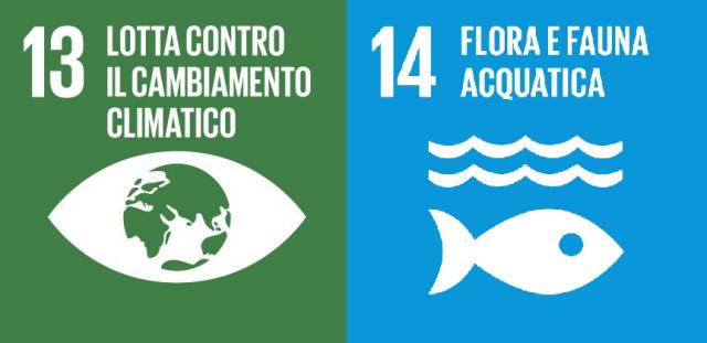 Agenda 2030: gli obiettivi ambientali di sviluppo sostenibile. SDG 13 e 14 – Lotta contro il cambiamento climatico e Vita sott'acqua