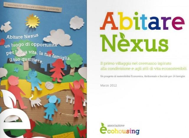 Abitare Nèxus: ecovillaggio cremasco che si ispira alla sostenbilità ambientale, economica e sociale