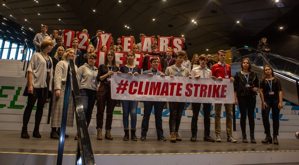 "15 marzo: ""Global strike for future"""