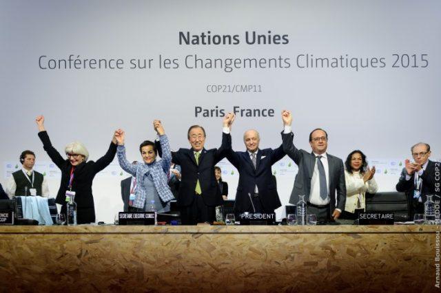 Accordo di Parigi per il contrasto al cambiamento climatico: oggi entra in vigore