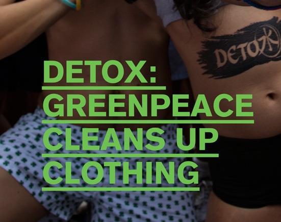 Moda detox: aziende della moda italiana rispondono all'appello di Greenpeace
