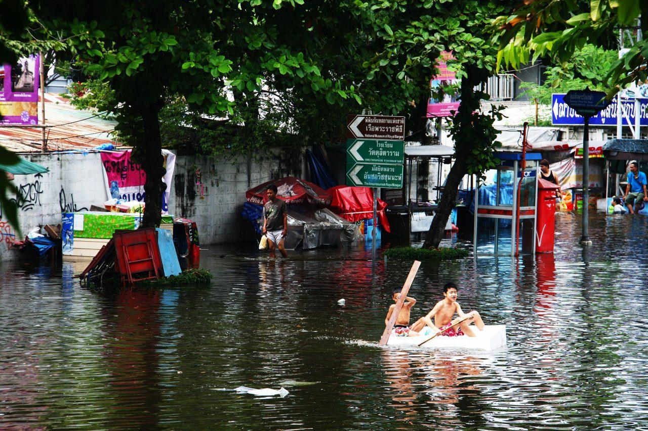 inondazione India flood Pixabay