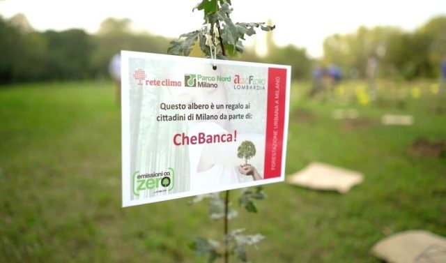 ForestaMI: forestazione urbana a Milano