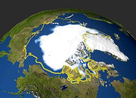 """Artico a + 35 °C sopra la temperatura media del periodo: """"Assolutamente terrificante ed incredibilmente raro""""."""