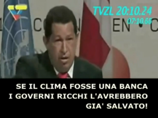 E' morto Hugo Chavez, uomo socialista, cattolico, anticapitalista e antiliberista