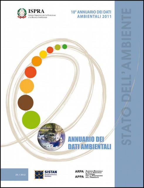 ISPRA: presentato l'annuario dei dati ambientali 2011 (Rapporto 25/2012)