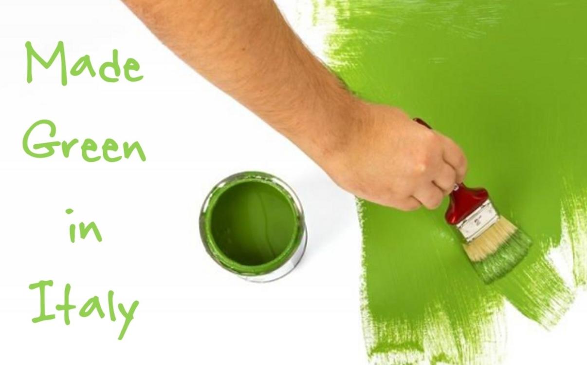 Made green in italy l 39 impronta ambientale dei prodotti for Green italy