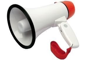 megafono-bianco