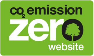 sito web a emissioni CO2 zero