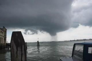 Un tornado a Venezia: effetto del cambiamento climatico?